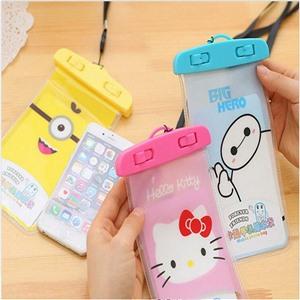 Чехол водонепроницаемый Helloy Kitty  для мобильных телефонов