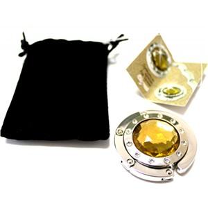 Держатель-крючок для сумок Elegant Элегант (золото), Любая женщина придет в восторг от такого подарка!
