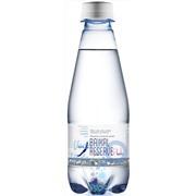 Упаковка минеральной газированной воды Baikal Reserve 0,28 в пластике - 12 шт.