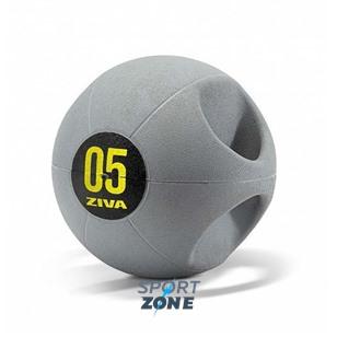 Набивной мяч Medball ZIVA с ручками, 8 кг