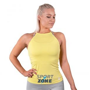 Спортивный топ Performance Halter, лимонный желтый