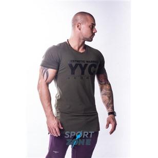 Ne Athletic Logo T-shirt цв.хаки