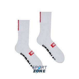 NEBBIA -EXTRA MILE- crew socks 39-42 цв.белый