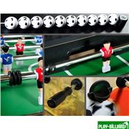 Weekend Настольный футбол (кикер) «Roma II» (140x76x87 см, цветной), интернет-магазин товаров для бильярда Play-billiard.ru. Фото 3