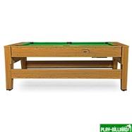 DBO Cтол-трансформер «Twister» 3 в 1  (бильярд, аэрохоккей, настольный теннис, 217 х 107,5 х 81 см, дуб), интернет-магазин товаров для бильярда Play-billiard.ru. Фото 4