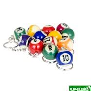 Weekend Комплект брелков «1-15» (упаковка 15 шт), интернет-магазин товаров для бильярда Play-billiard.ru. Фото 3
