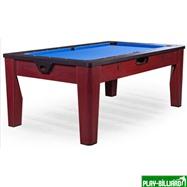 DBO Многофункциональный игровой стол 6 в 1 «Tornado» (коричневый), интернет-магазин товаров для бильярда Play-billiard.ru. Фото 1