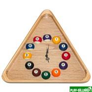 Longoni Часы треугольные с шарами, интернет-магазин товаров для бильярда Play-billiard.ru. Фото 1