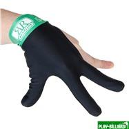 Longoni Перчатка бильярдная «Renzline» (черно-зеленая), интернет-магазин товаров для бильярда Play-billiard.ru. Фото 3