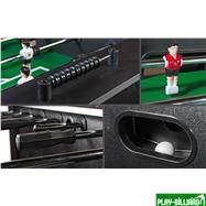 Настольный футбол (кикер) «Bavaria» (146 х 81 х 88 см, черный), интернет-магазин товаров для бильярда Play-billiard.ru. Фото 5