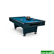 """Бильярдный стол для пула """"Eliminator"""" 8 ф (черный) в комплекте, аксессуары + сукно, интернет-магазин товаров для бильярда Play-billiard.ru"""
