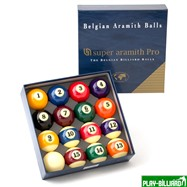 "Aramith Saluc Комплект шаров 57.2 мм ""Super Aramith Pro"", интернет-магазин товаров для бильярда Play-billiard.ru. Фото 1"