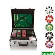 Набор для игры в покер и блэк-джек Royal Flush на 600 фишек, интернет-магазин товаров для бильярда Play-billiard.ru. Фото 1