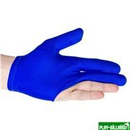 Longoni Перчатка бильярдная «Renzline Start Blue» (синяя), интернет-магазин товаров для бильярда Play-billiard.ru. Фото 2