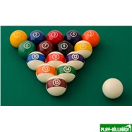 "Aramith Saluc Комплект шаров 57.2 мм ""Aramith Continental"", интернет-магазин товаров для бильярда Play-billiard.ru. Фото 2"