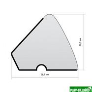 Northen Rubber Комплект резины U-118 10ф «Northern Rubber» (145 см)  пирамида, интернет-магазин товаров для бильярда Play-billiard.ru. Фото 2