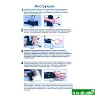 """Перчатка тренировочная """"Pro Shot Glove"""" (черная), интернет-магазин товаров для бильярда Play-billiard.ru. Фото 3"""
