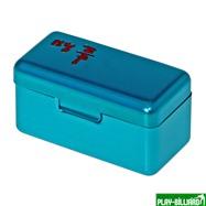 Ball Teck Мел «Ball teck PRO II» (2 шт, в бирюзовой металлической коробке) синий, интернет-магазин товаров для бильярда Play-billiard.ru. Фото 3