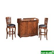 """Барный стол """"Norman"""" (на колесах), интернет-магазин товаров для бильярда Play-billiard.ru. Фото 2"""