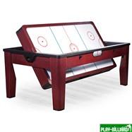 DBO Многофункциональный игровой стол 6 в 1 «Tornado» (коричневый), интернет-магазин товаров для бильярда Play-billiard.ru. Фото 8