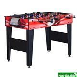 Настольный футбол (кикер) «Flex» (122x61x78.7 см, красный), интернет-магазин товаров для бильярда Play-billiard.ru