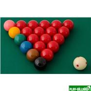 "Aramith Saluc Комплект шаров 52.4 мм ""Aramith Tornament"", интернет-магазин товаров для бильярда Play-billiard.ru. Фото 2"