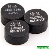 REI TIP & MAX Co. Наклейка для кия «Rei Samurai Black» (M) 14 мм, интернет-магазин товаров для бильярда Play-billiard.ru