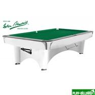 Weekend Бильярдный стол для пула «Dynamic III» 9 ф (белый)», интернет-магазин товаров для бильярда Play-billiard.ru