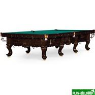 Weekend Бильярдный стол для русского бильярда «Gogard» 12 ф (махагон), интернет-магазин товаров для бильярда Play-billiard.ru