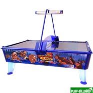 Wik Аэрохоккей «Beavers vs Bears» 8 ф (238 х 158 х 83 см, цветной, жетоноприемник/купюроприемник), интернет-магазин товаров для бильярда Play-billiard.ru