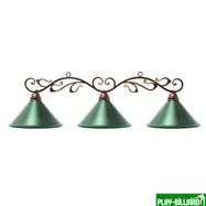 "Лампа на три плафона ""Антик"", интернет-магазин товаров для бильярда Play-billiard.ru. Фото 1"