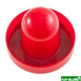 "Бита для аэрохоккея ""3-in-1"" (красная) D66 mm, интернет-магазин товаров для бильярда Play-billiard.ru"