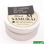 REI TIP & MAX Co. Наклейка для кия «Rei Samurai Black» (M) 14 мм, интернет-магазин товаров для бильярда Play-billiard.ru. Фото 2
