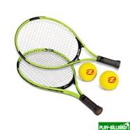 Zume Games Складной комплект для игры в большой / пляжный теннис (2 ракетки, 2 мяча, сетка), интернет-магазин товаров для бильярда Play-billiard.ru. Фото 2