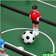"""Настольный футбол (кикер) """"Chance"""" (83х40х15 см, черный), интернет-магазин товаров для бильярда Play-billiard.ru. Фото 2"""