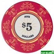 Набор для покера Luxury Ceramic на 500 фишек, интернет-магазин товаров для бильярда Play-billiard.ru. Фото 3
