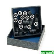 Kamui Наклейка для кия «Kamui Clear Black» (H) 13 мм, интернет-магазин товаров для бильярда Play-billiard.ru. Фото 2