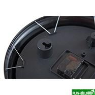 Weekend Часы настенные «12 шаров» D30 см (черные), металл, интернет-магазин товаров для бильярда Play-billiard.ru. Фото 9
