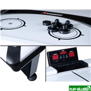 Atomic Аэрохоккей «Atomic Blazer» 7 ф (195 х 123 х 80 см, черный), интернет-магазин товаров для бильярда Play-billiard.ru. Фото 3