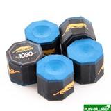 Weekend Мел «Predator 1080 Pure» синий (5 шт), интернет-магазин товаров для бильярда Play-billiard.ru