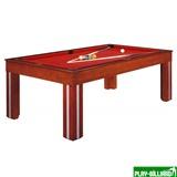 Weekend Бильярдный стол для пула «Granada» 7 ф (махагон) со столешницей и сукном, интернет-магазин товаров для бильярда Play-billiard.ru