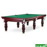 Weekend Бильярдный стол для пула «Дебют» 9 ф (махагон) ЛДСП, интернет-магазин товаров для бильярда Play-billiard.ru
