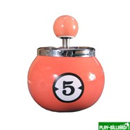 Weekend Пепельница «Пятерка» (керамическая), интернет-магазин товаров для бильярда Play-billiard.ru