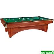 Weekend Бильярдный стол для пула «Dynamic III» 9 ф (коричневый), интернет-магазин товаров для бильярда Play-billiard.ru. Фото 1