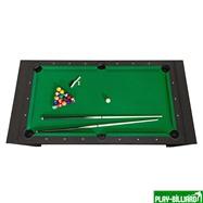 DBO Cтол-трансформер «Twister» 3 в 1 (бильярд, аэрохоккей, настольный теннис, 217 х 107,5 х 81 см, черный), интернет-магазин товаров для бильярда Play-billiard.ru. Фото 7