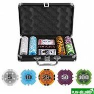 Набор для покера Compas на 200 фишек, интернет-магазин товаров для бильярда Play-billiard.ru