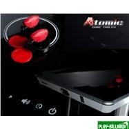 Atomic Аэрохоккей «Atomic Avenger» 8 ф (244 х 122 х 82 см, черный), интернет-магазин товаров для бильярда Play-billiard.ru. Фото 3