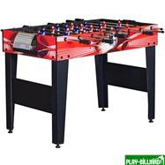 Weekend Настольный футбол (кикер) «Flex» (122x61x78.7 см, красный), интернет-магазин товаров для бильярда Play-billiard.ru. Фото 1