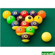"Aramith Saluc Комплект шаров 57.2 мм ""Aramith Glow in the dark"", интернет-магазин товаров для бильярда Play-billiard.ru. Фото 3"