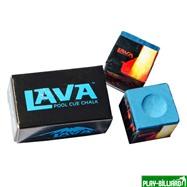 Weekend Мел «Lava» (2 шт) синий, интернет-магазин товаров для бильярда Play-billiard.ru. Фото 1